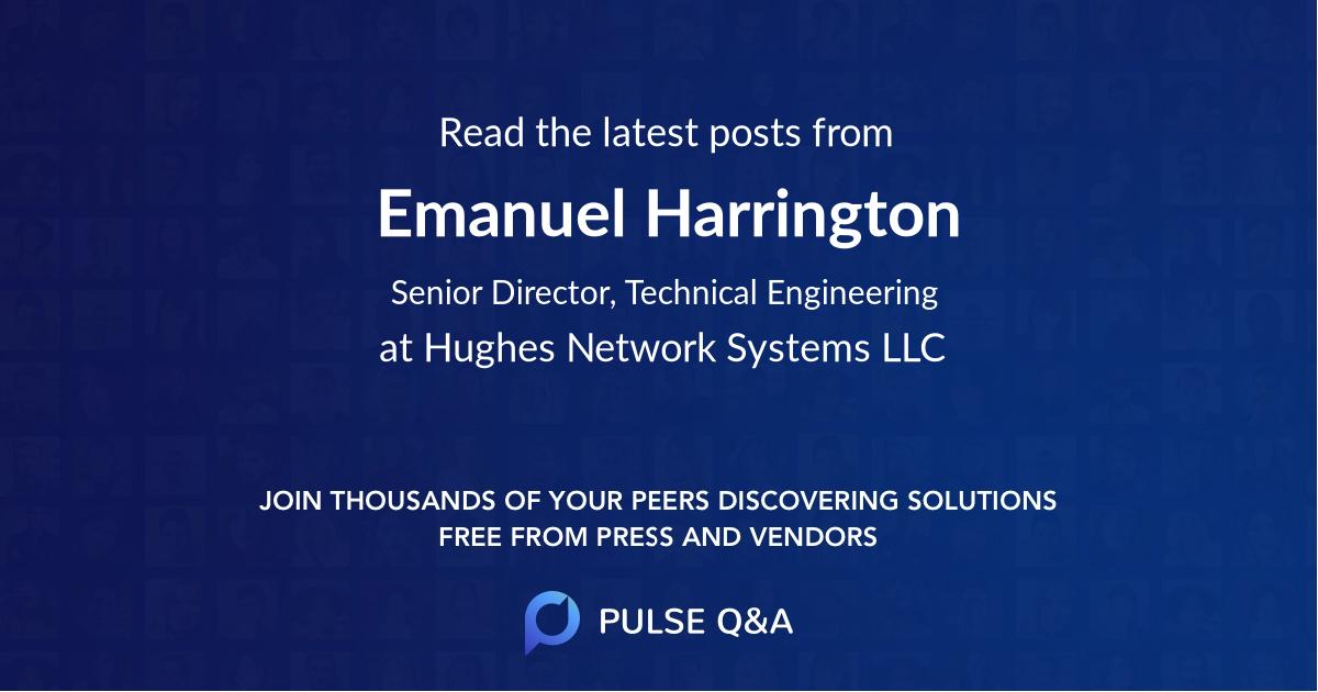 Emanuel Harrington