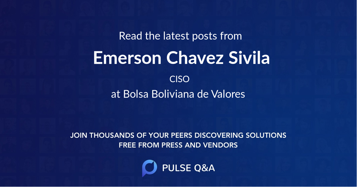 Emerson Chavez Sivila