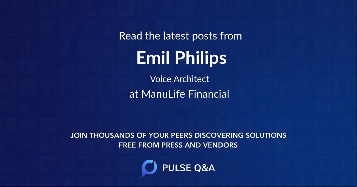Emil Philips