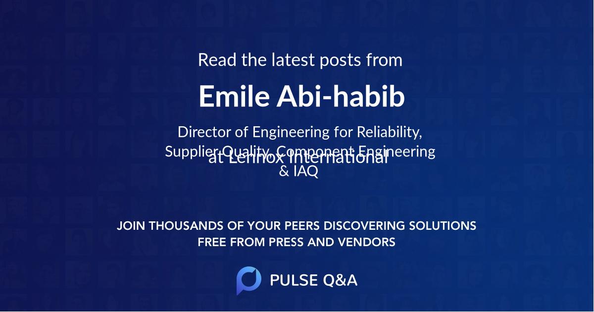 Emile Abi-habib