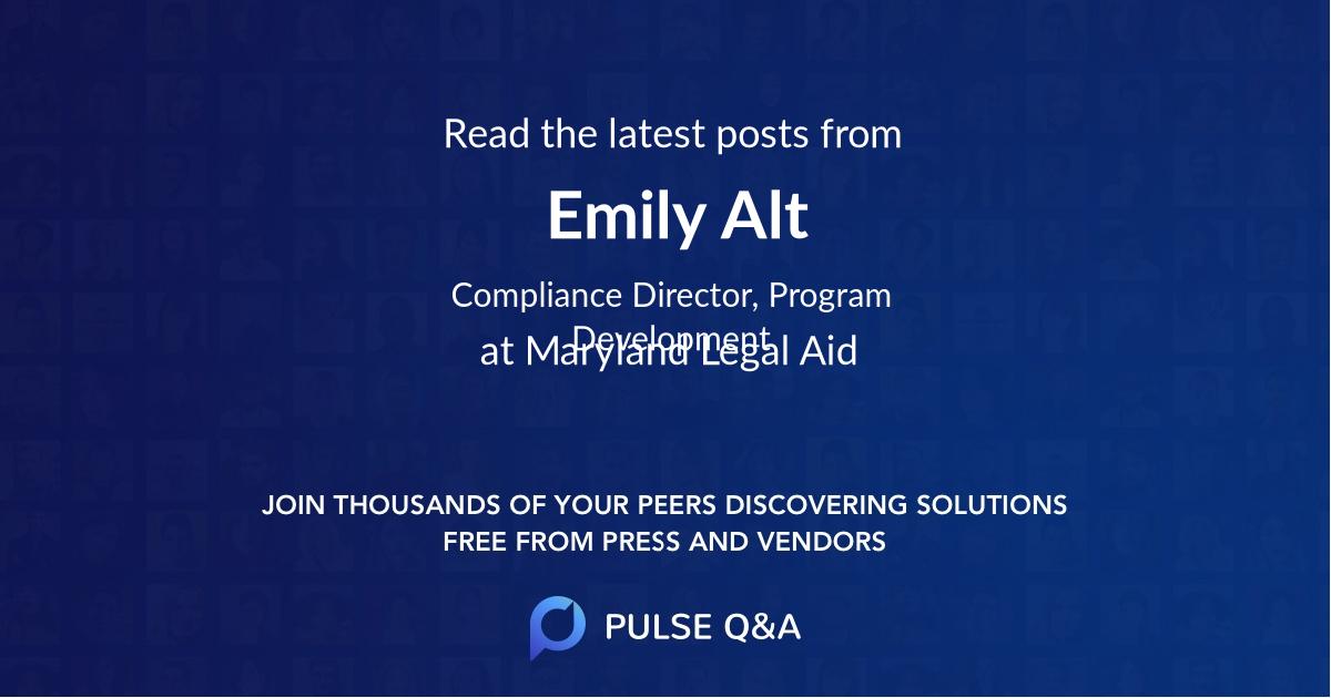 Emily Alt