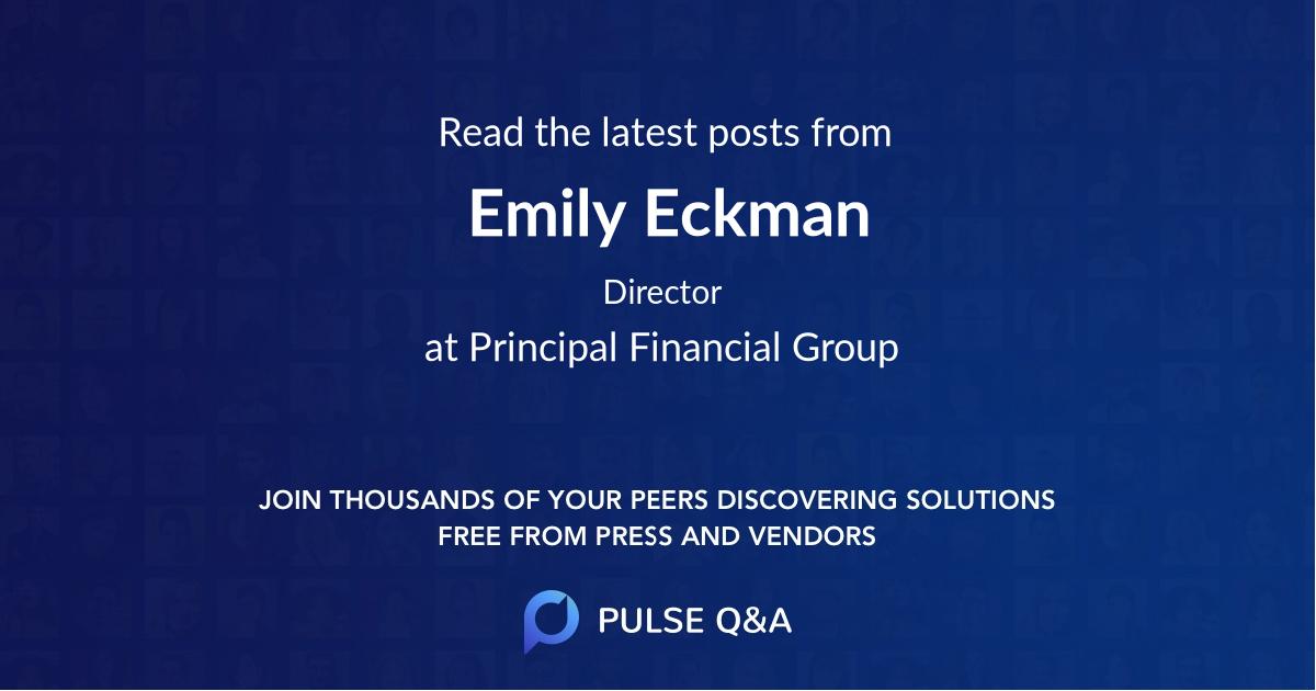 Emily Eckman