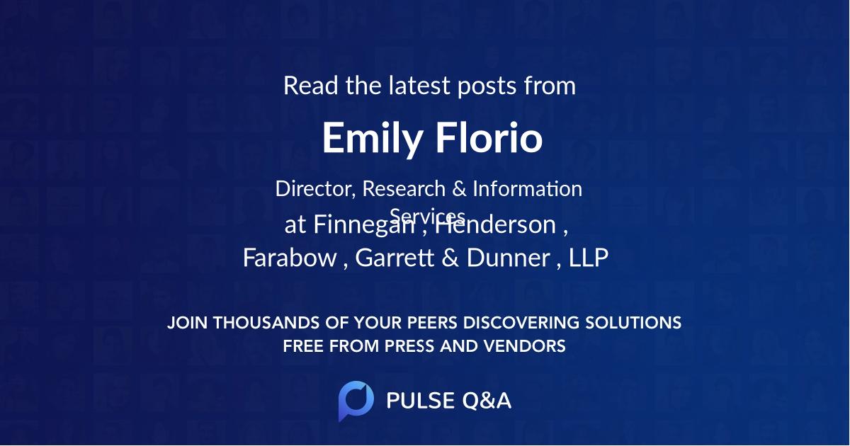 Emily Florio