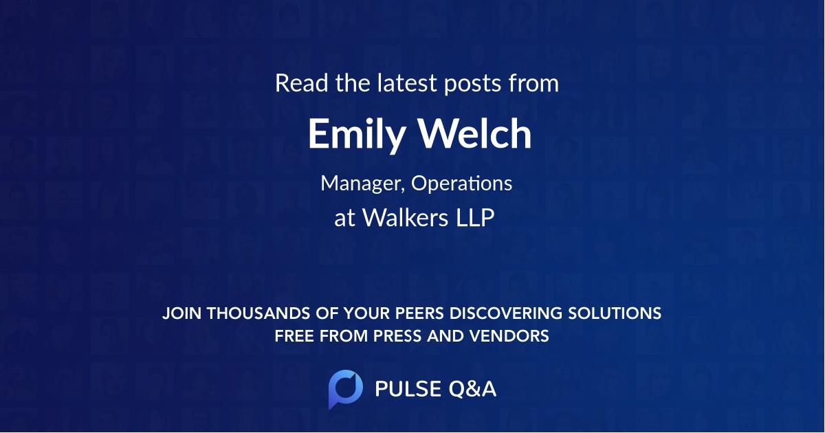 Emily Welch
