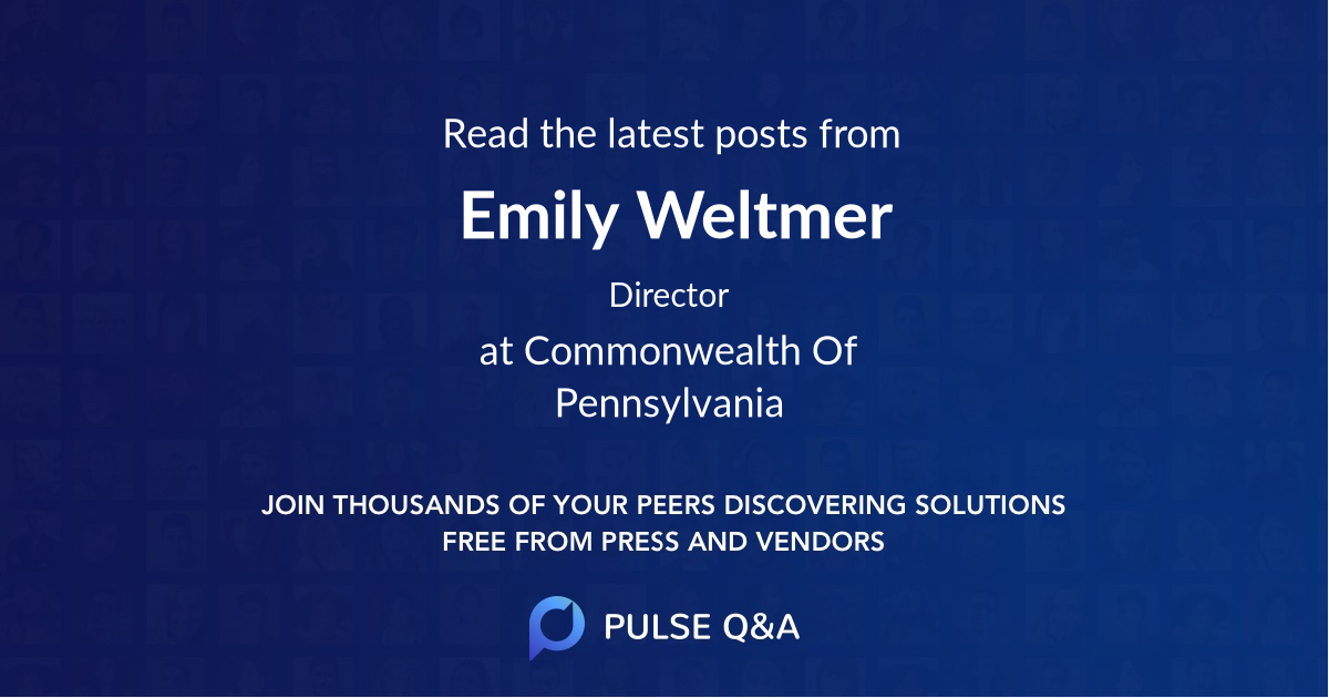 Emily Weltmer