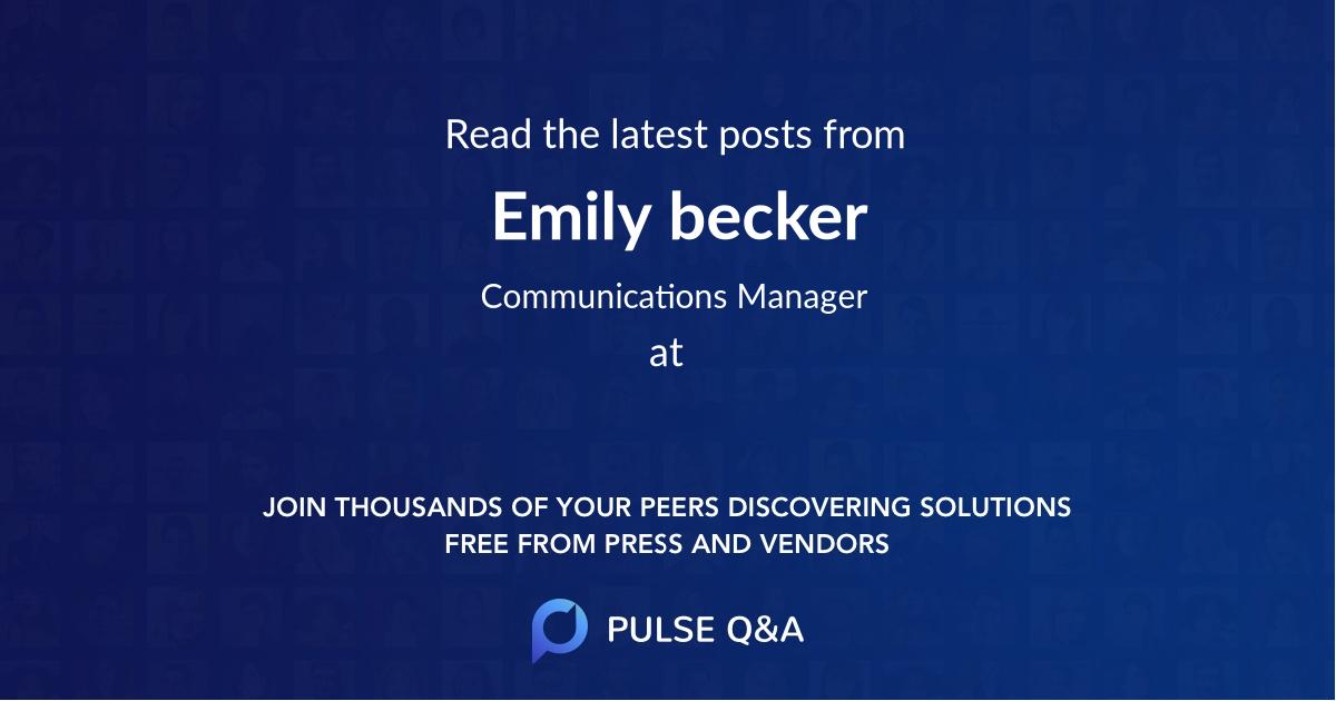 Emily becker