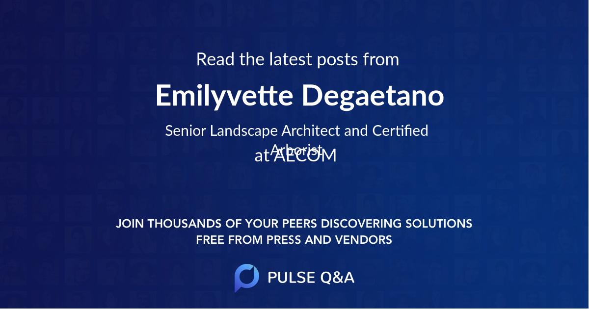 Emilyvette Degaetano