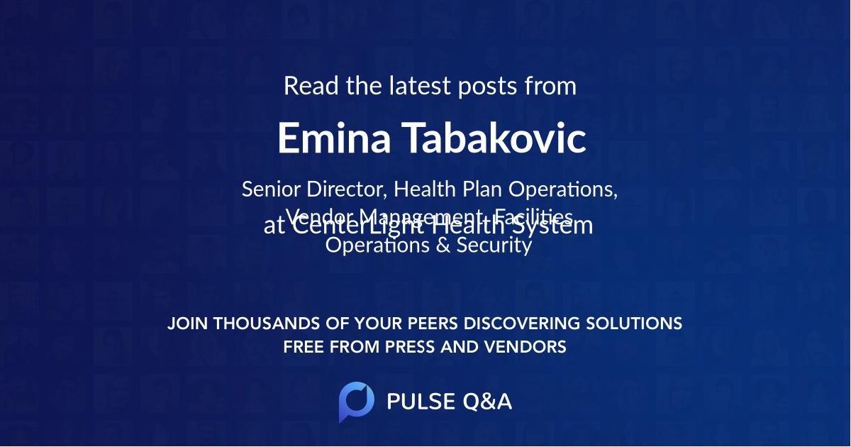 Emina Tabakovic