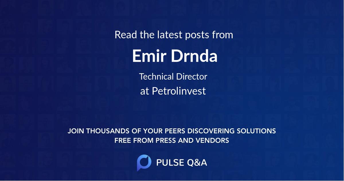 Emir Drnda