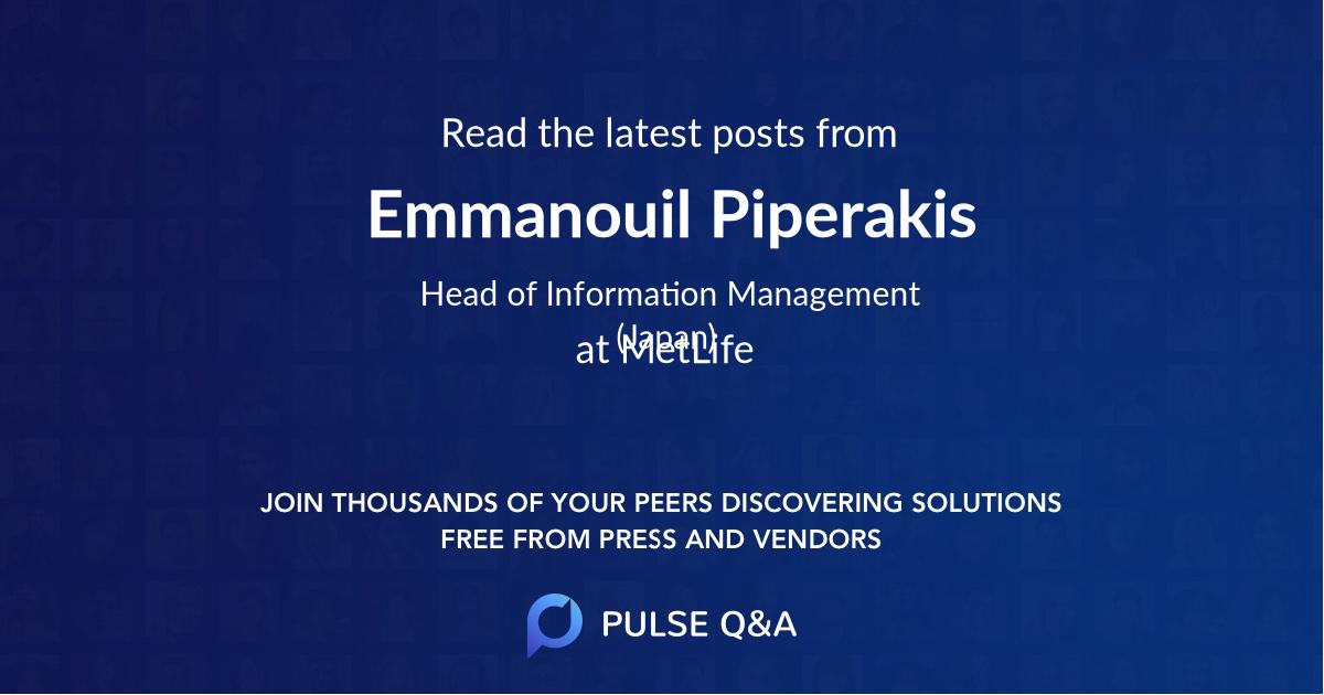 Emmanouil Piperakis