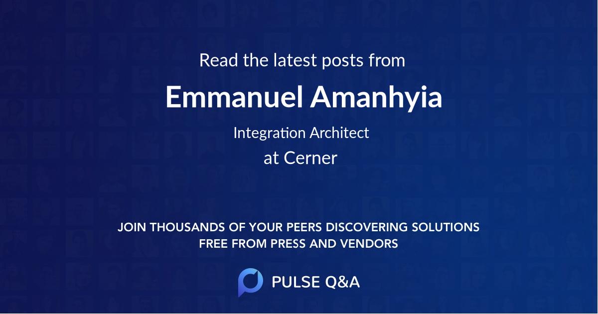 Emmanuel Amanhyia