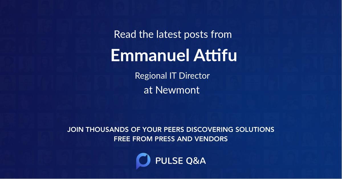 Emmanuel Attifu
