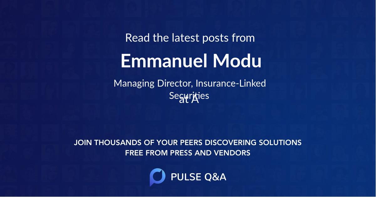 Emmanuel Modu