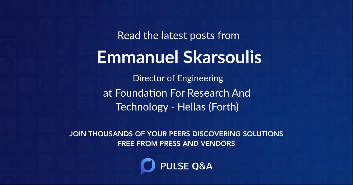 Emmanuel Skarsoulis