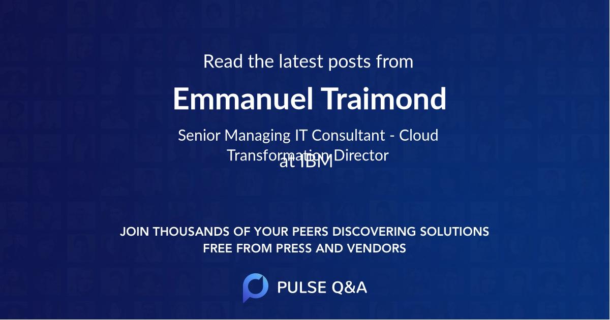 Emmanuel Traimond