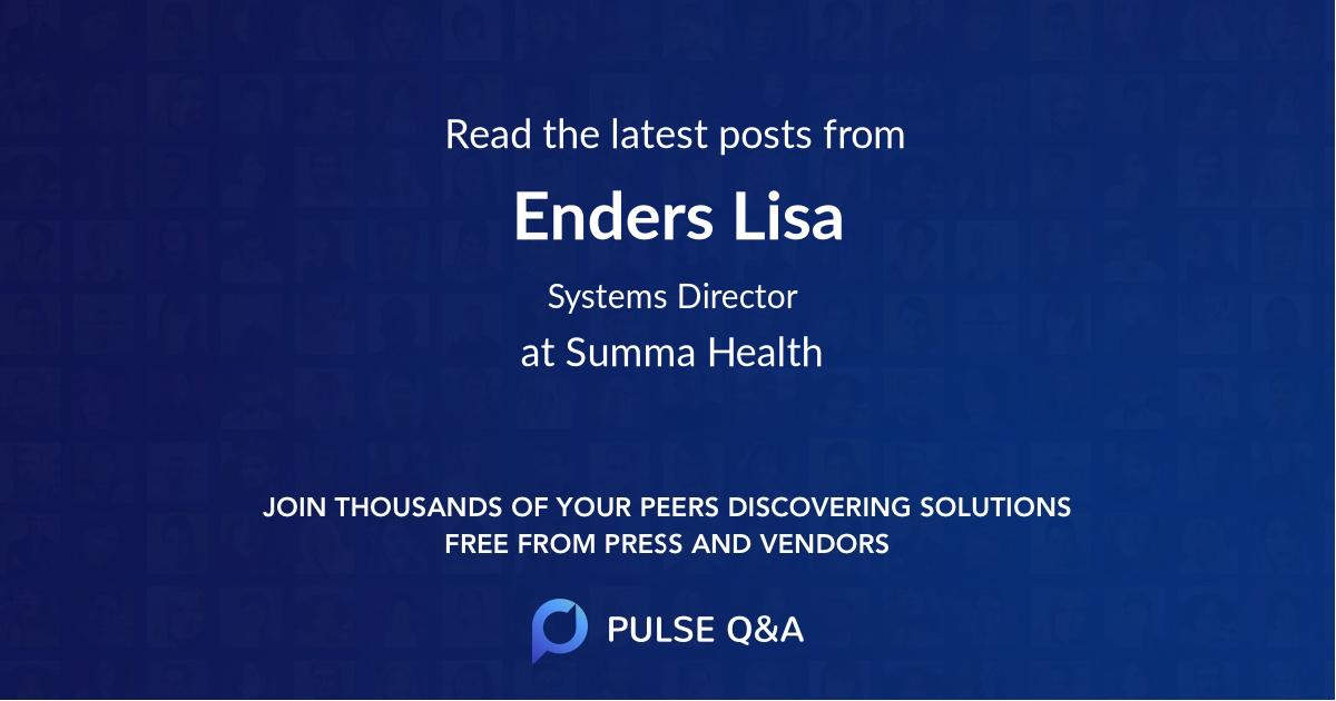 Enders Lisa