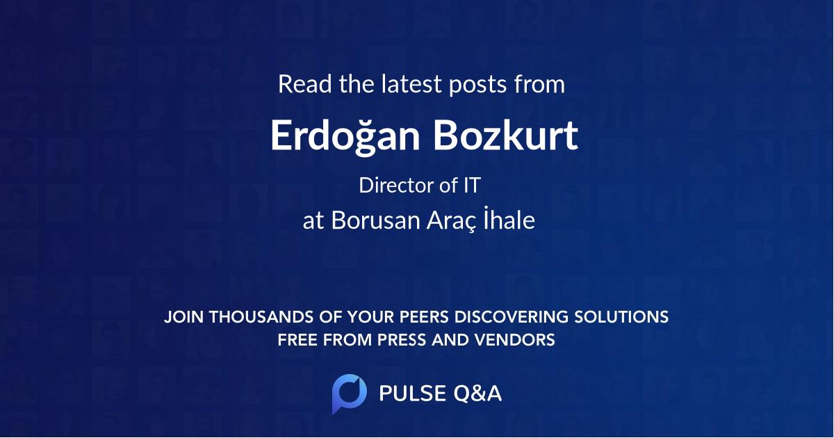 Erdoğan Bozkurt