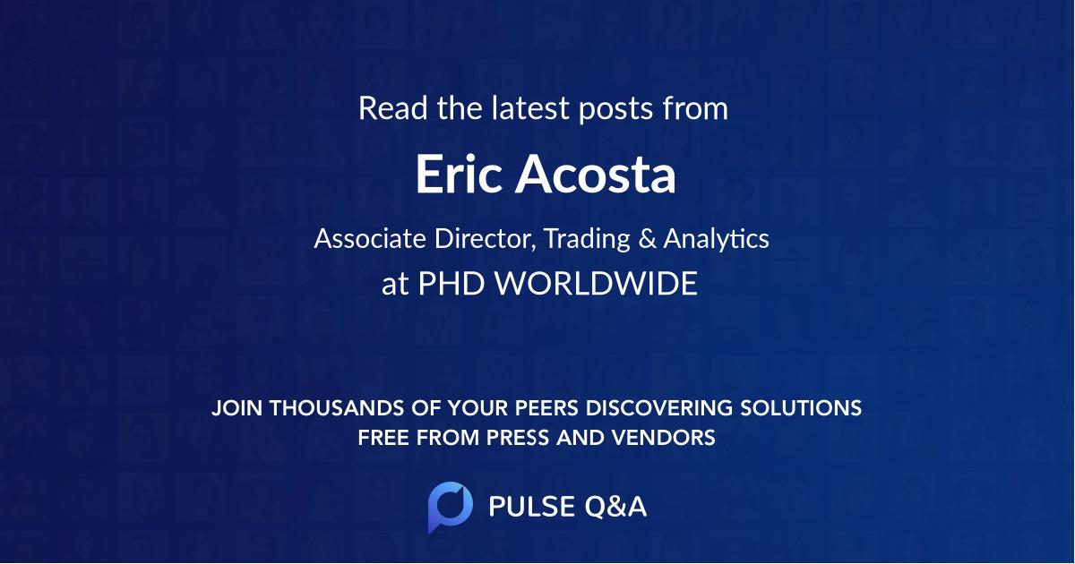 Eric Acosta