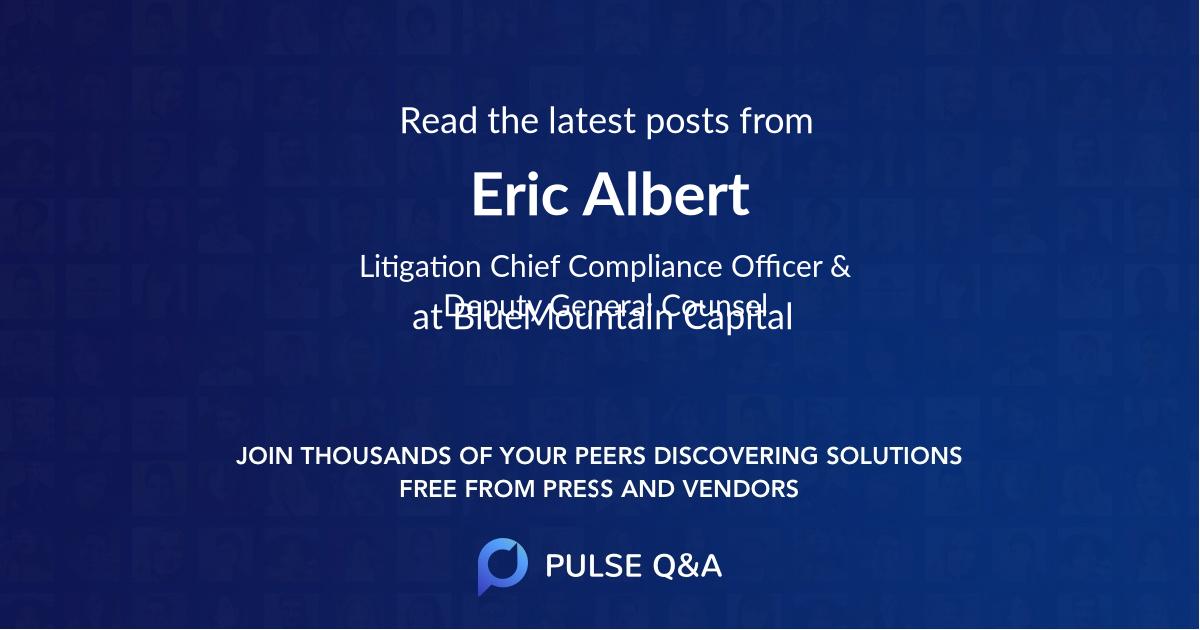 Eric Albert