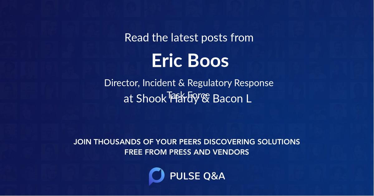 Eric Boos