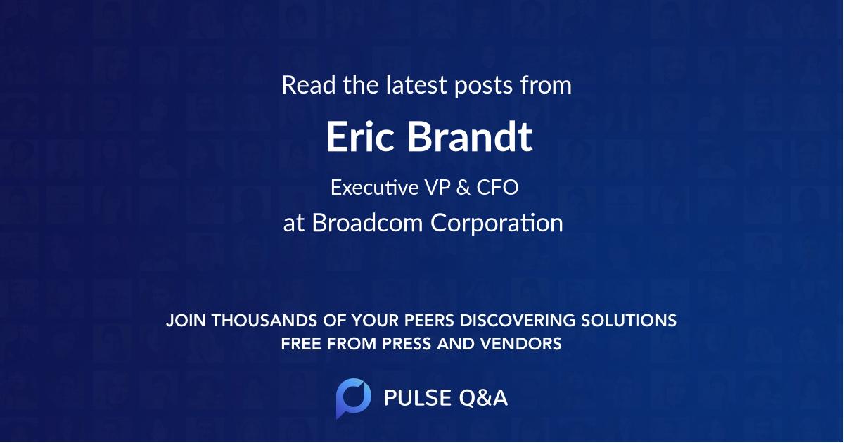 Eric Brandt