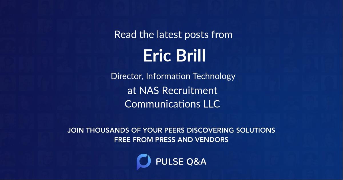 Eric Brill