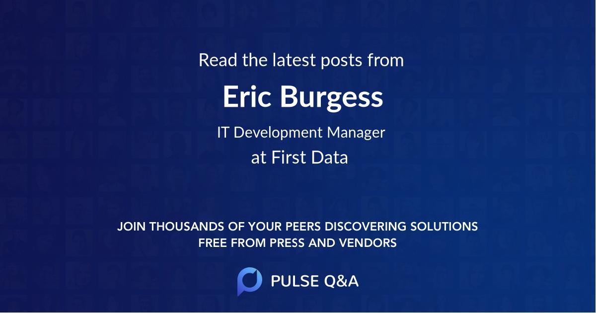 Eric Burgess