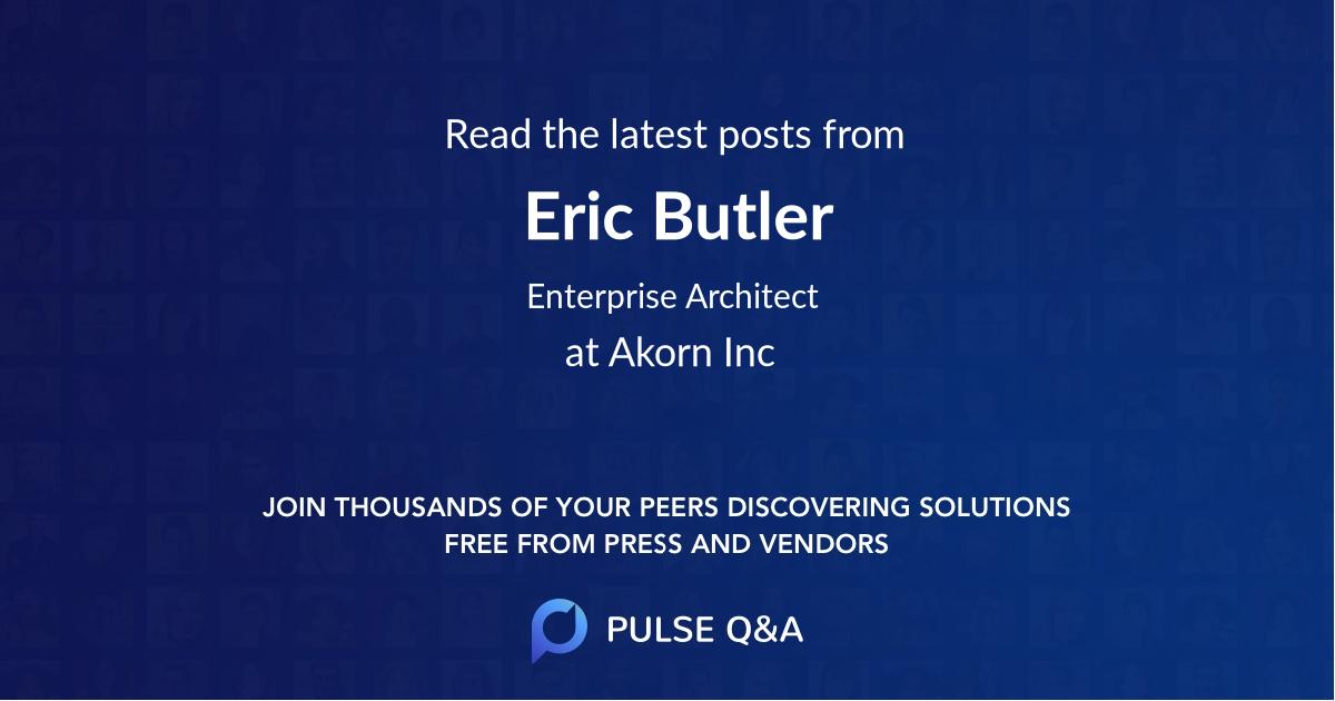Eric Butler