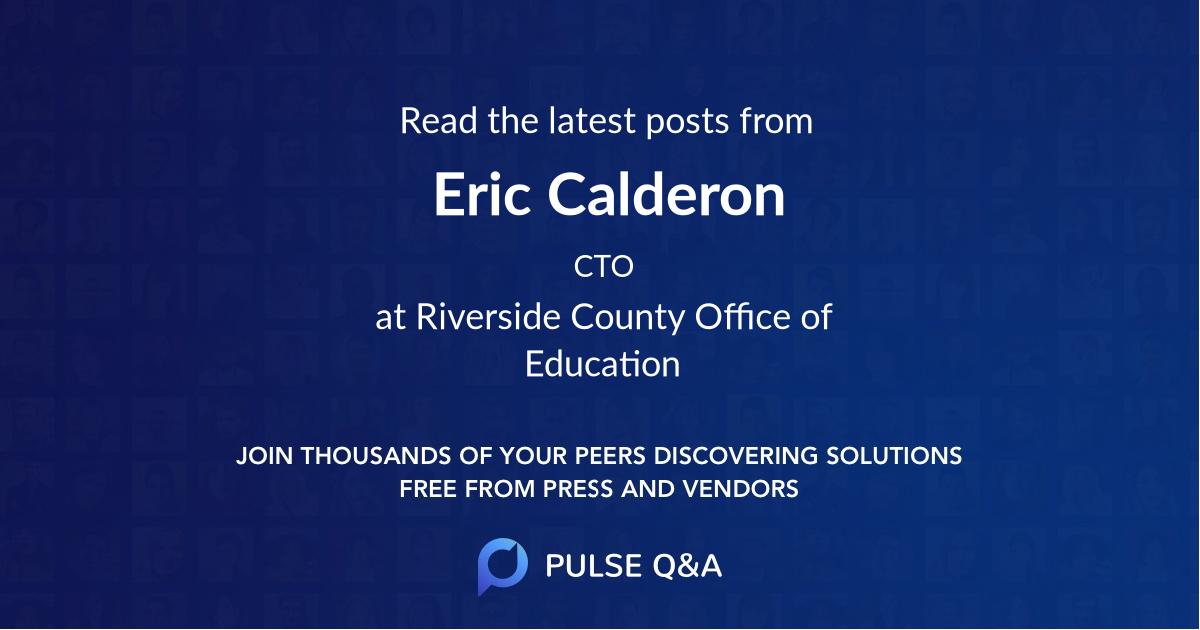 Eric Calderon
