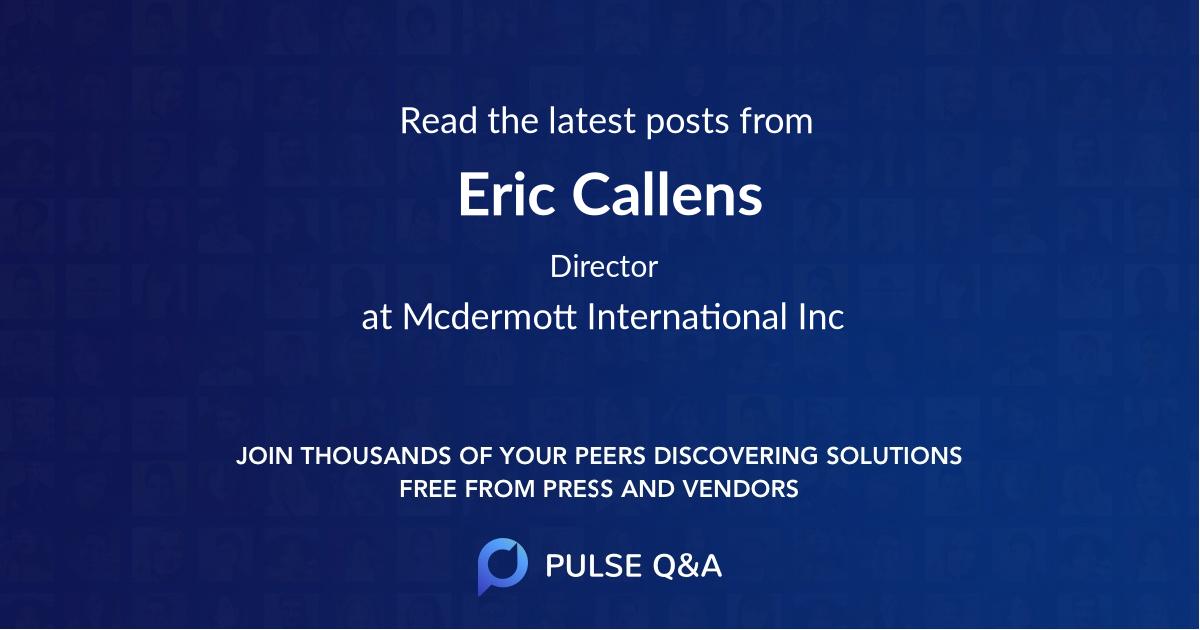 Eric Callens