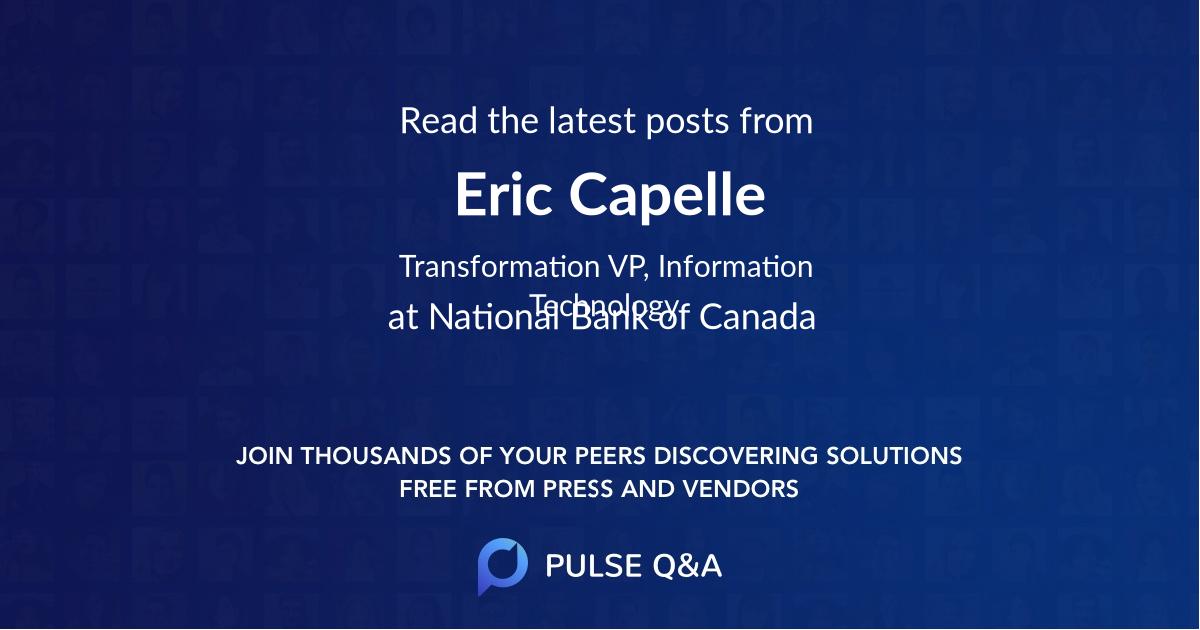 Eric Capelle