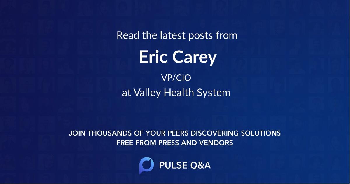 Eric Carey