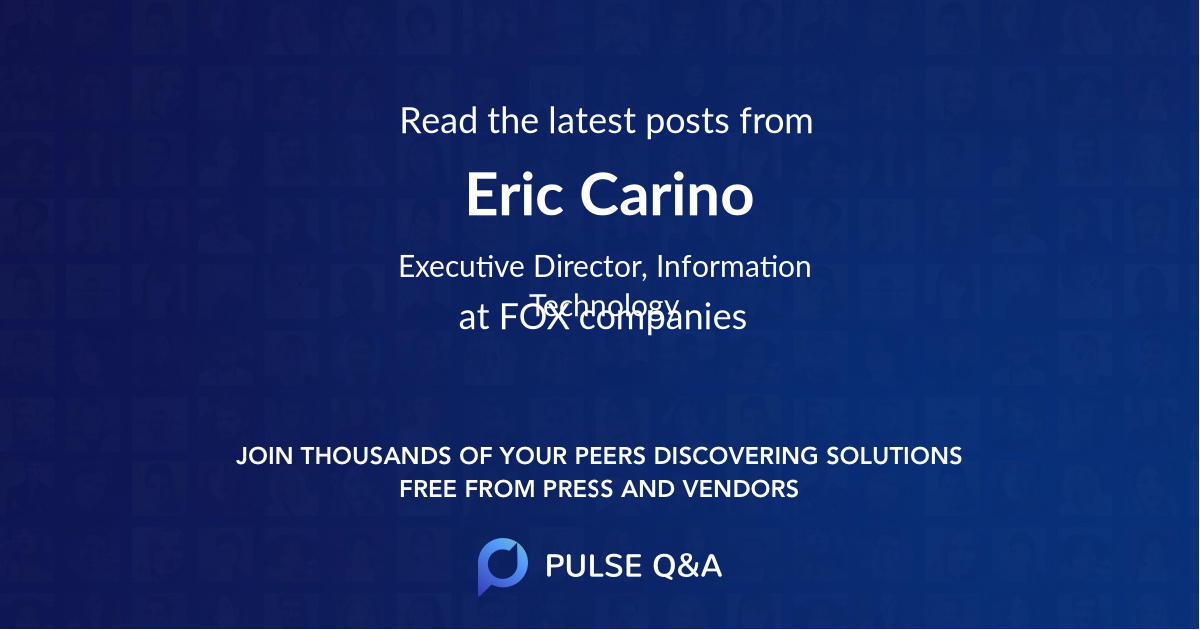Eric Carino