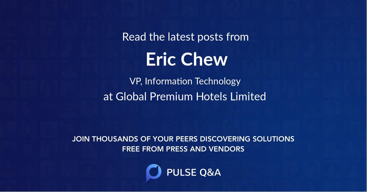 Eric Chew