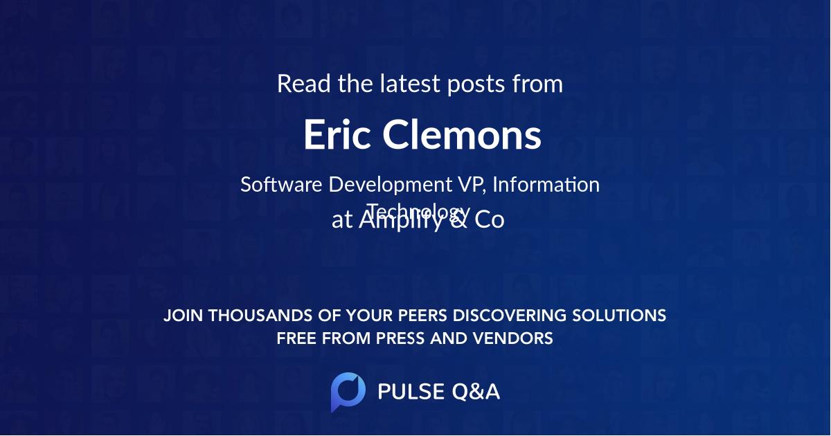 Eric Clemons