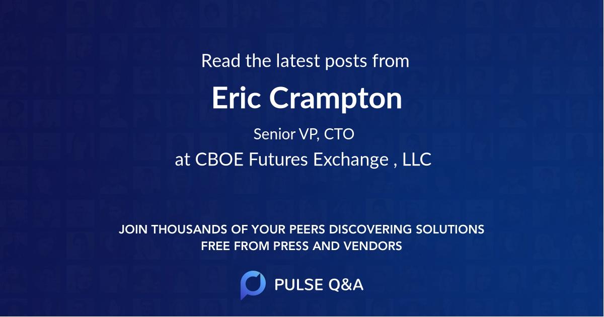 Eric Crampton
