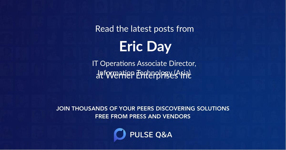 Eric Day