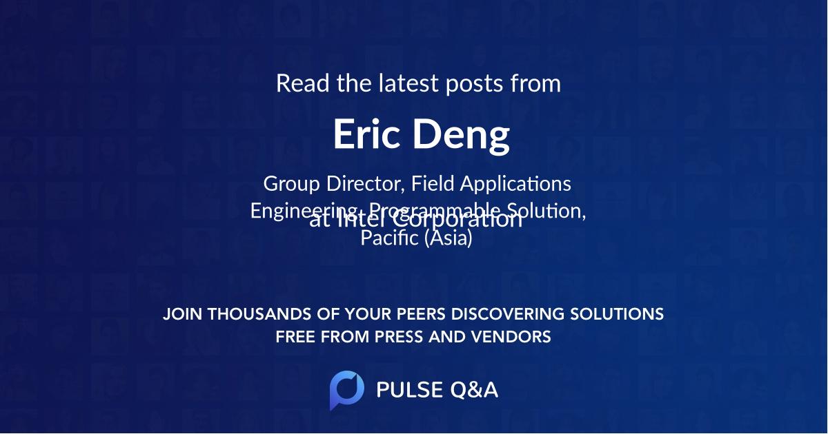 Eric Deng