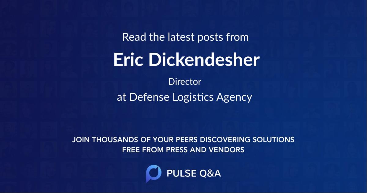 Eric Dickendesher