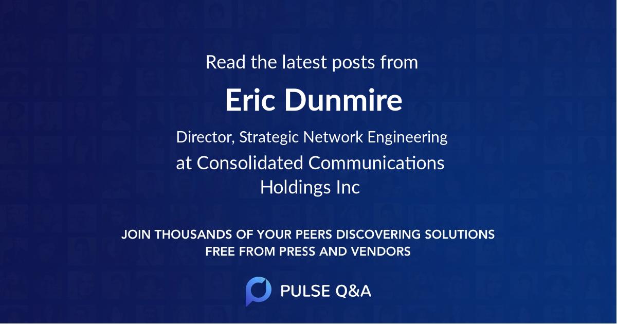 Eric Dunmire