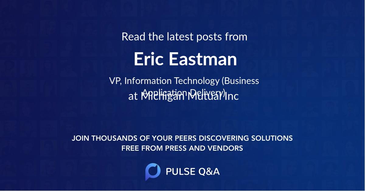 Eric Eastman
