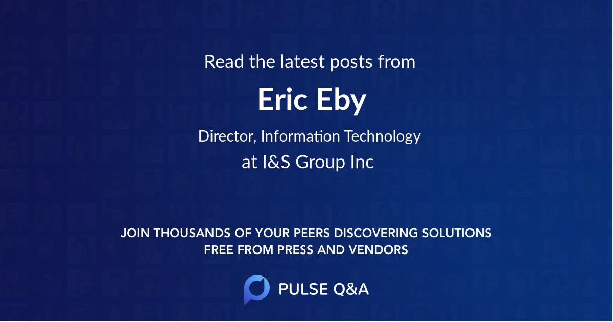 Eric Eby