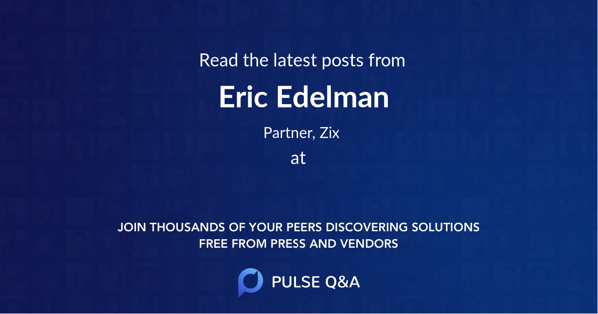 Eric Edelman