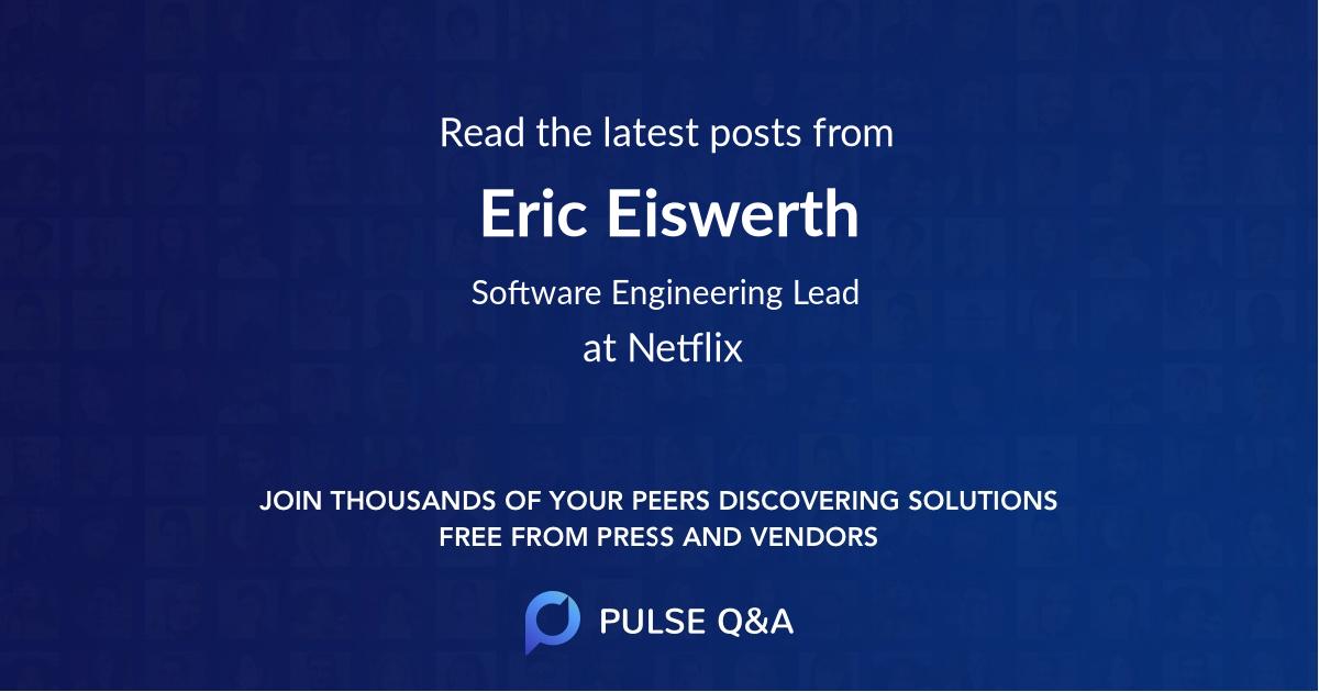 Eric Eiswerth