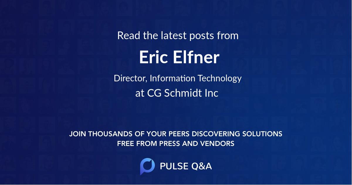 Eric Elfner
