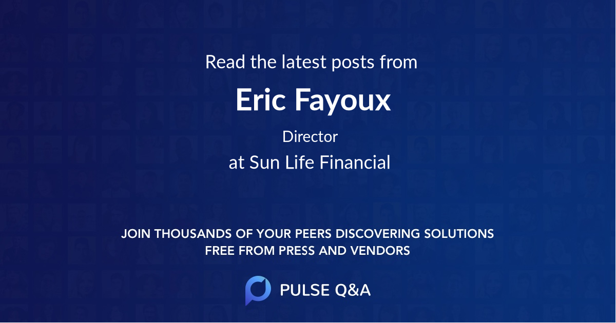 Eric Fayoux