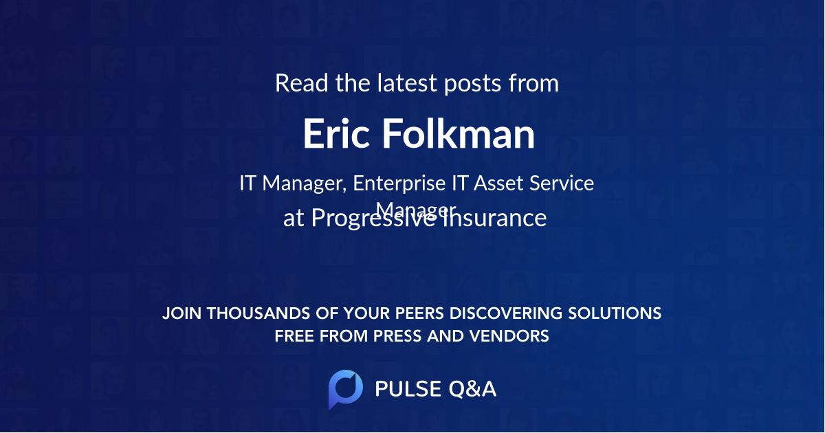 Eric Folkman
