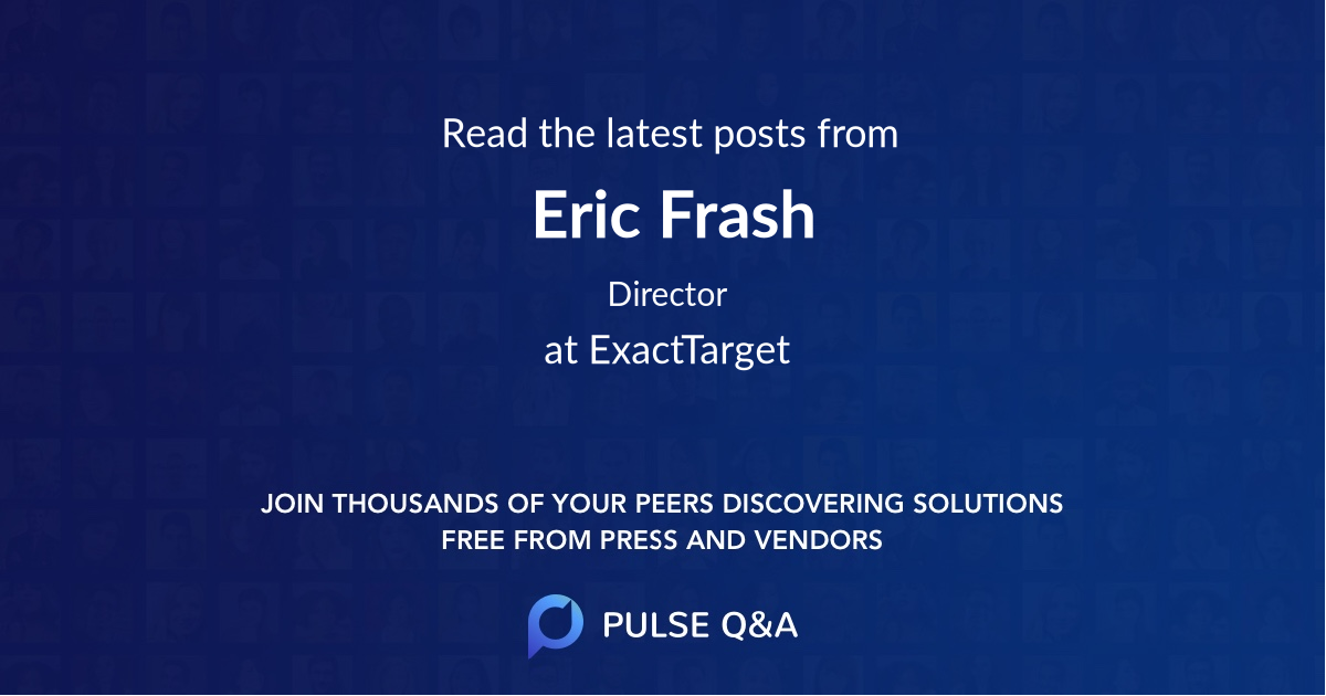Eric Frash