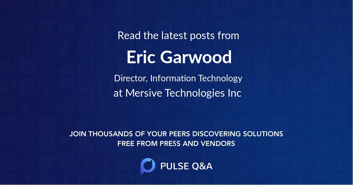 Eric Garwood