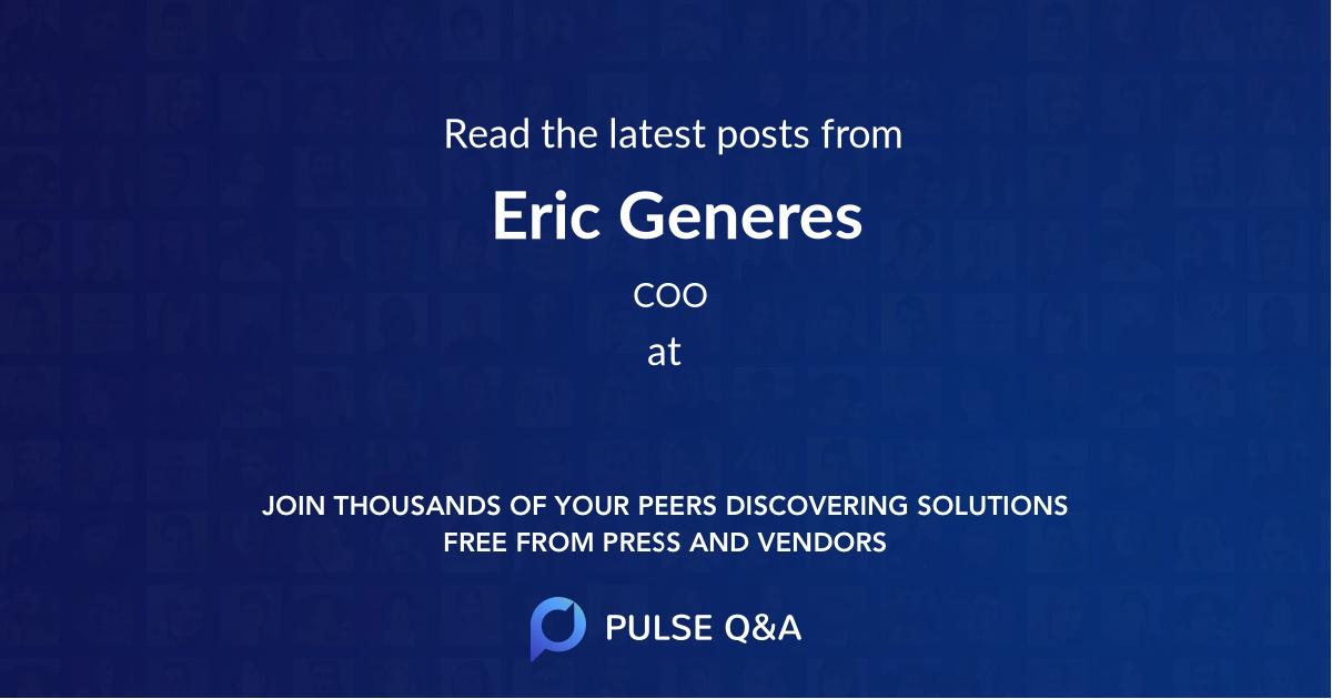 Eric Generes